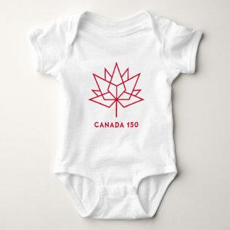 Logotipo de Canadá 150 Body Para Bebé