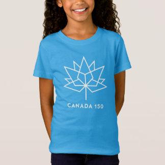 Logotipo de Canadá 150 Playera
