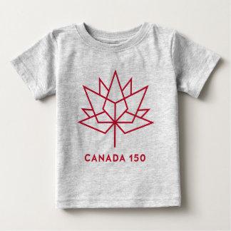 Logotipo de Canadá 150 Playera De Bebé