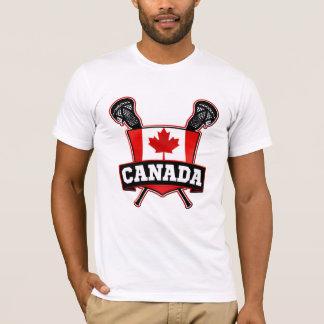 Logotipo de Canadá LaCrosse Playera