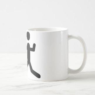 logotipo de cercado negro del símbolo taza de café