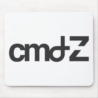 Logotipo de CMD Z Tapetes De Raton