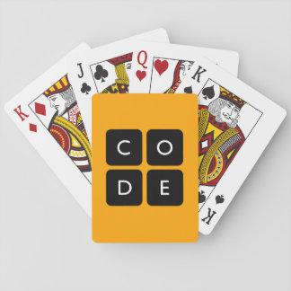 logotipo de Code.org Baraja De Póquer