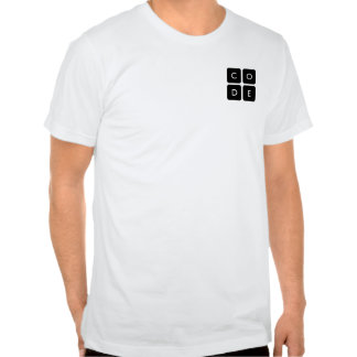 logotipo de Code org Camiseta