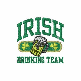 logotipo de consumición irlandés del equipo