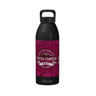 Logotipo de Cortina d'Ampezzo Botellas De Agua Reutilizables