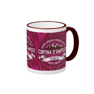 Logotipo de Cortina d'Ampezzo Tazas De Café