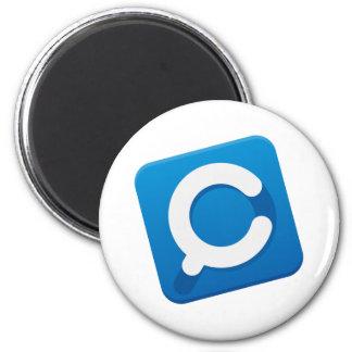 Logotipo de CouponMapia App Imán Redondo 5 Cm
