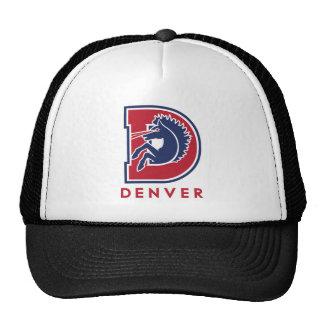 Logotipo de D Denver Gorros Bordados