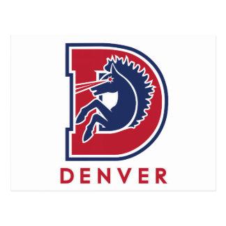 Logotipo de D Denver Postales