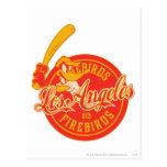 Logotipo de DAFFY DUCK™ Los Ángeles Firebirds Postales