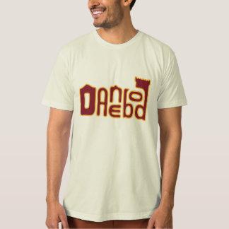 Logotipo de Danebod Melty - marrón/oro Playeras
