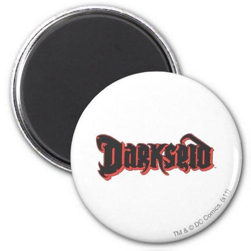 Logotipo de Darkseid Imán Redondo 5 Cm