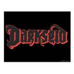 Logotipo de Darkseid Tarjetas Postales