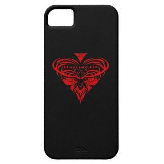 Logotipo de Darling3D iPhone 5 Case-Mate Cárcasas
