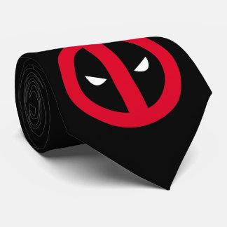 Logotipo de Deadpool Corbatas Personalizadas