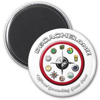 Logotipo de Decachelon Imán Redondo 5 Cm