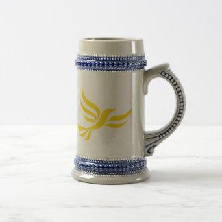 Logotipo de Demócratas liberales Tazas De Café