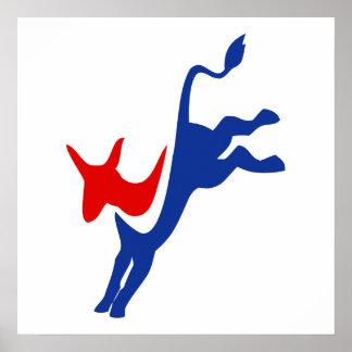 Logotipo de Demócratas Poster