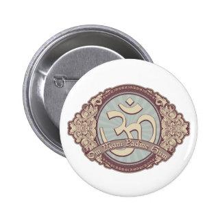 Logotipo de Devanagari OM del vintage Pins