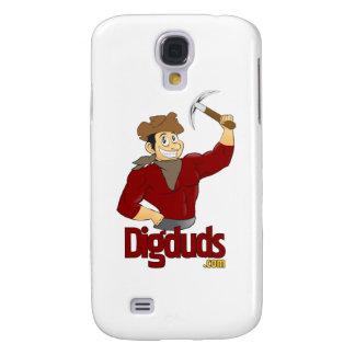 logotipo de DigDuds.com Carcasa Para Galaxy S4