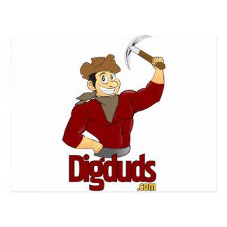 logotipo de DigDuds.com Postales