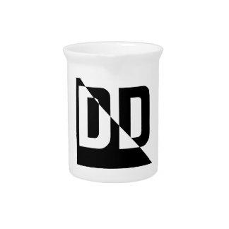 Logotipo de DigiDuncan (básico) Jarrón