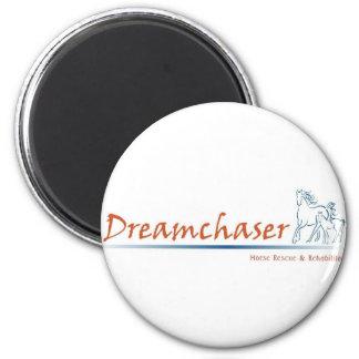 Logotipo de Dreamchaser Imán Redondo 5 Cm