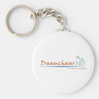 Logotipo de Dreamchaser Llavero Redondo Tipo Pin