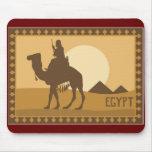 Logotipo de Egipto Alfombrillas De Raton
