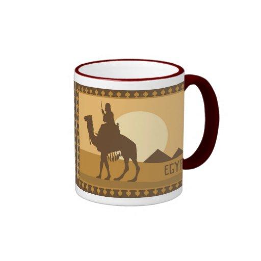 Logotipo de Egipto Tazas De Café