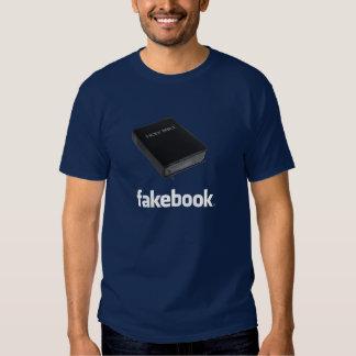Logotipo de Fakebook Poleras