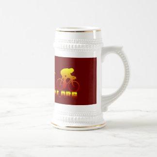 Logotipo de Firestarter de la asociación de la Jarra De Cerveza