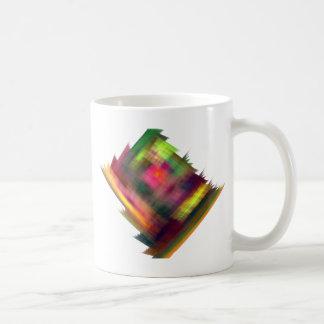 Logotipo de forma diamantada brillante fabuloso tazas