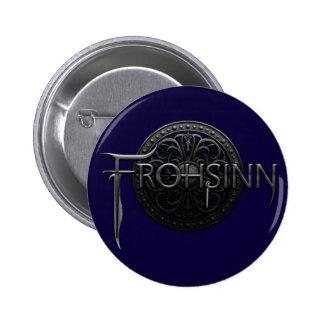 Logotipo de Frohsinn Pin Redondo De 2 Pulgadas