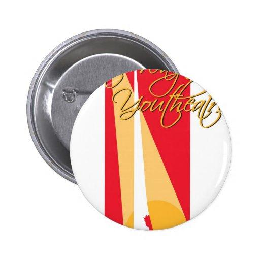 Logotipo de fuerte Wayne Youtheatre Pins