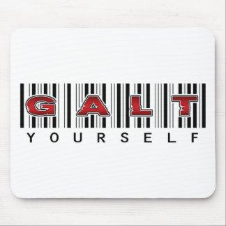 Logotipo de GALT USTED MISMO Mousepads