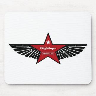 Logotipo de Gigstops Tapetes De Raton