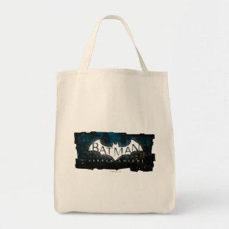 Logotipo de Gotham del caballero de Batman Arkham Bolsa Tela Para La Compra