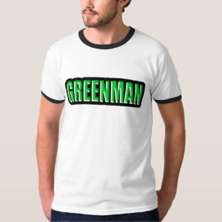 Logotipo de Greenman Playera