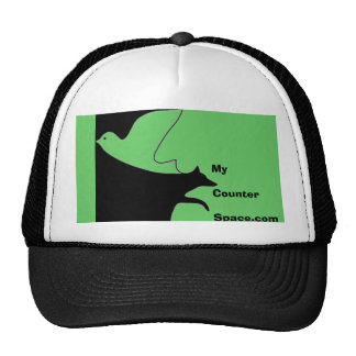 Logotipo de GreenMCS - MyCounterSpace com gorra