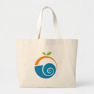 Logotipo de Guru del mac Bolsa Tela Grande