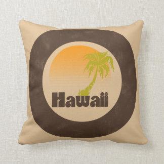Logotipo de Hawaii del vintage Cojín