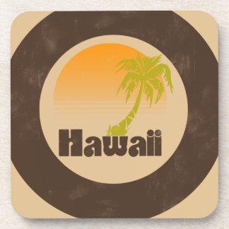 Logotipo de Hawaii del vintage Posavaso