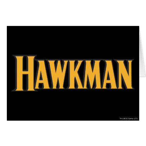 Logotipo de Hawkman Tarjeta De Felicitación