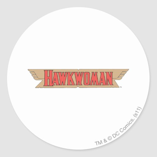 Logotipo de Hawkwoman Pegatina