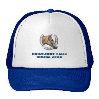 Logotipo de herradura para los clubs gorras