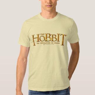 Logotipo de Hobbit - oro Poleras