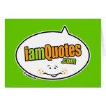 logotipo de iamQuotes.com Felicitación