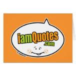 logotipo de iamQuotes.com Felicitacion